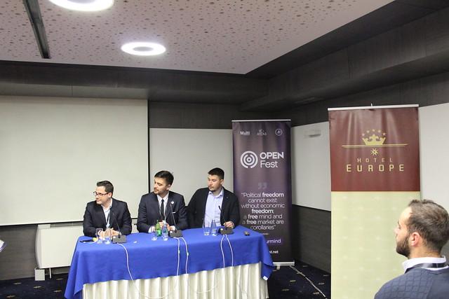 "Panel ""Liberty on Balkans"""