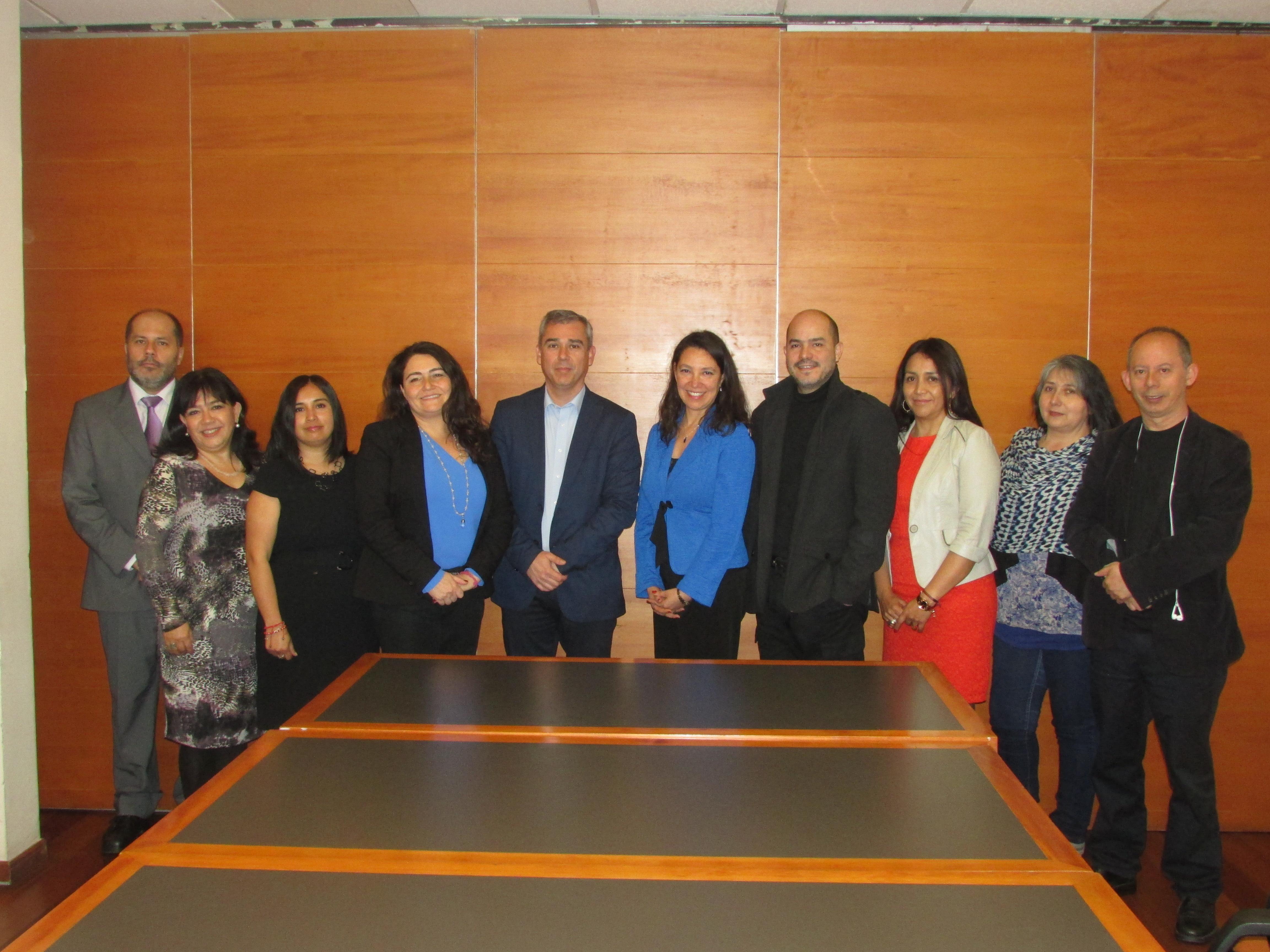 AFIICH y ANEIICH sostuvieron reunión protocolar con Subsecretaria de Hacienda - 22 Septiembre 2017