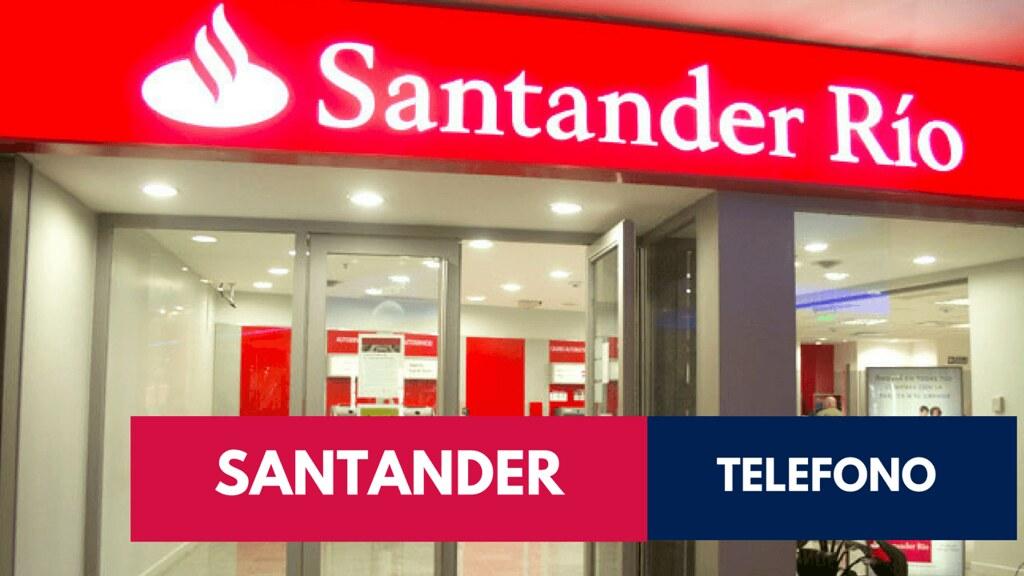 Telefono Santander Rio
