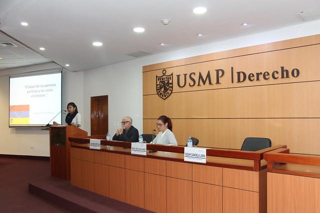 """El Instituto de Derechos Humanos y Desarrollo de la USMP realizó el conversatorio  denominado """"Plan V: Visiones, vicios y verdades de la realidad Venezolana"""""""