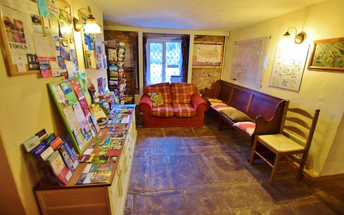 The Star Bunkhouse information/chill out area in Brecon Beacons