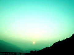 Sunrise over Lake Como, Italy