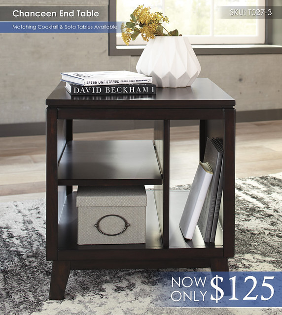 Chanceen End Table T027-3