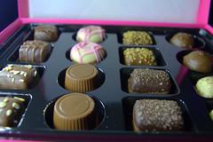 M&S British Pudding Chocolates