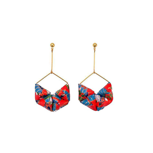 HEXA Origami Earrings - Mayumi Origami