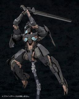 前MGS美術總監「新川洋司」設計!壽屋《Frame Arms 骨裝機兵》影虎 1/100 組裝模型 特典版