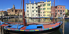 Contarini boat named after one of the founding families of the Venetian Republic
