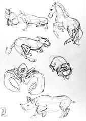 Gesture drawings Day 11