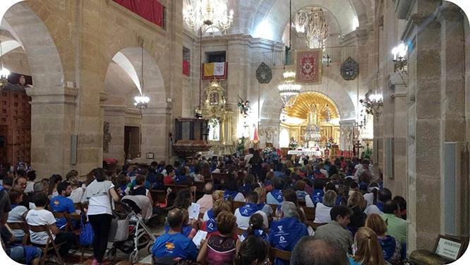 Franciscanos Cartagena viaja en peregrinación a Caravaca