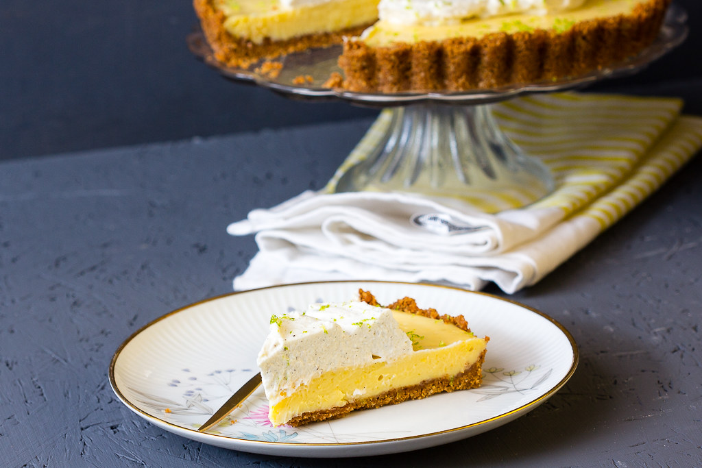 Key Lime Pie via lunchforone