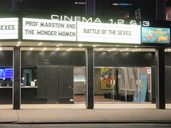Professor Marston and The Wonder Women Marquee 2017 NYC 2328