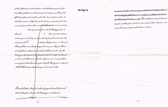 Draft Indenture of Mortgage between Robert Fitzmaurice, Cloghers, Ireland Capt. Royal Artillery & Mother Thomasine Fitzmaurice, Sept. 1898. Also Kent. p9-11