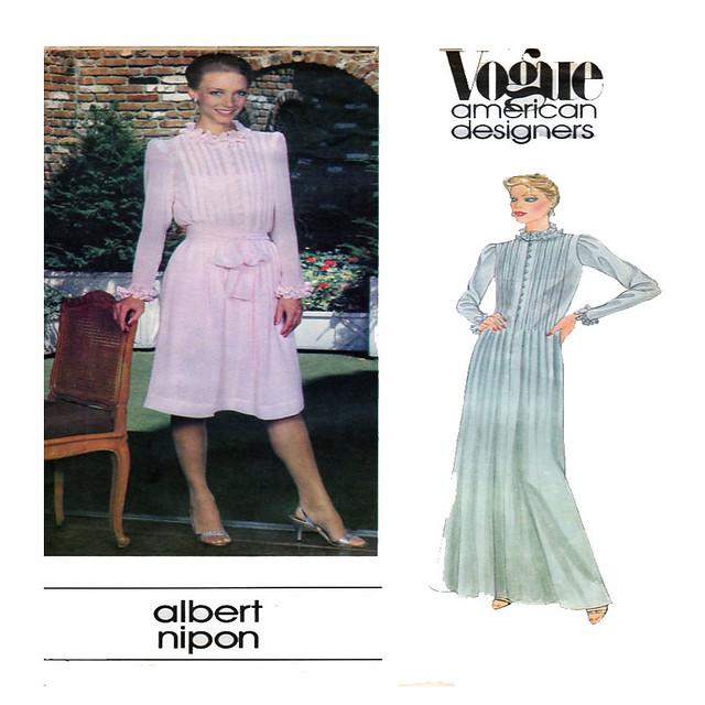 Vogue 2641 Albert Nipon