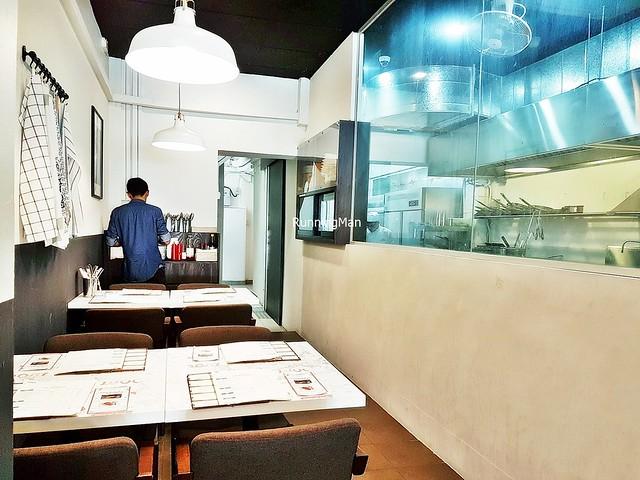 Walled Kitchen