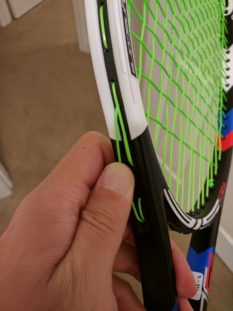 Loose string on poly string job? | Talk Tennis