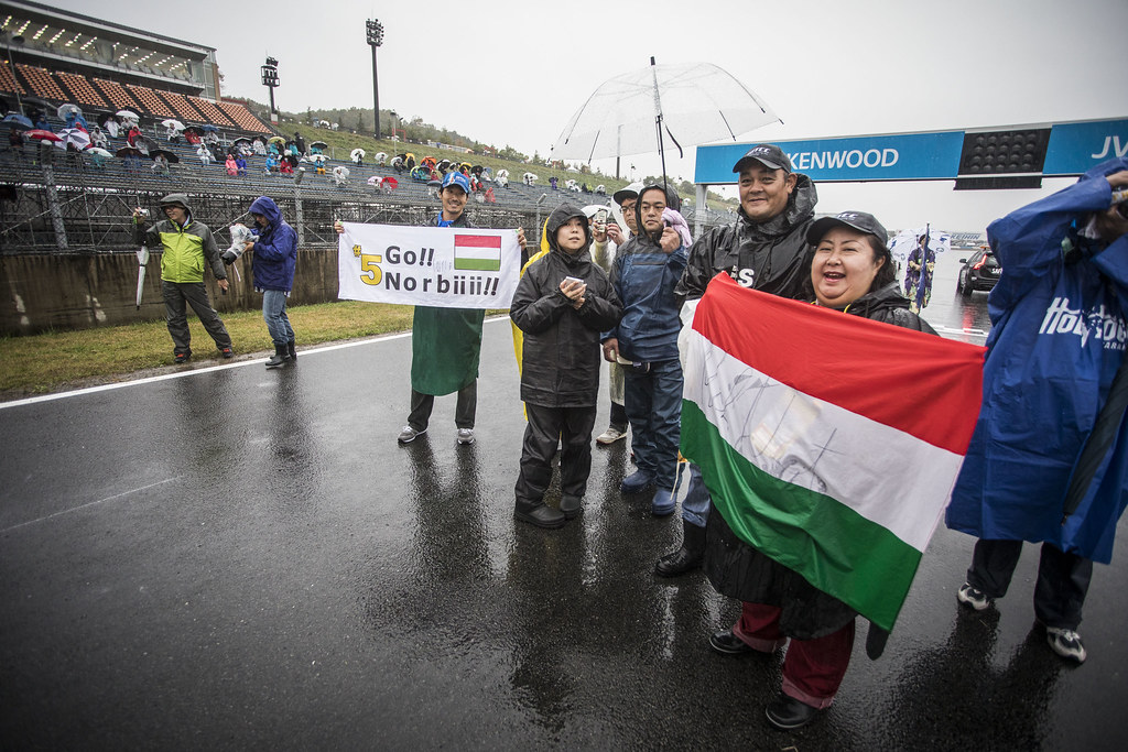 fan supporter during the 2017 FIA WTCC World Touring Car Championship race at Motegi from october 27 to 29, Japan - Photo Gregory Lenormand / DPPI
