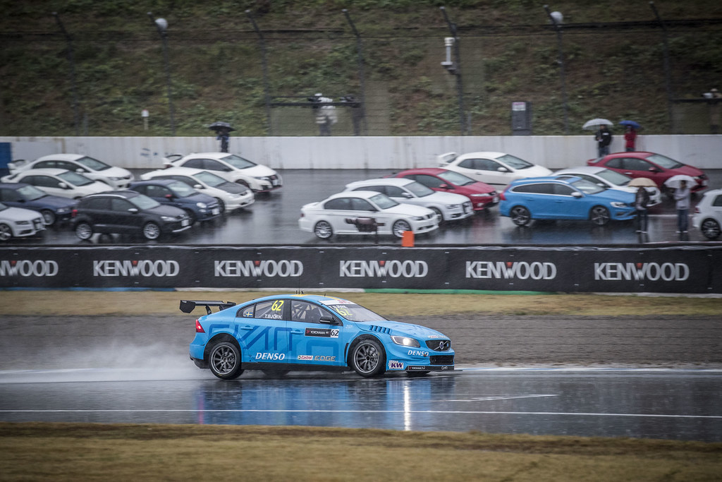 62 BJORK Thed (swe) Volvo S60 Polestar team Polestar Cyan Racing action during the 2017 FIA WTCC World Touring Car Championship race at Motegi from october 27 to 29, Japan - Photo Gregory Lenormand / DPPI