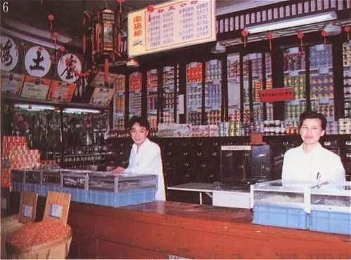 三阳盛南货店。办年货有客人来才去,一般就在弄堂口的南货店解决
