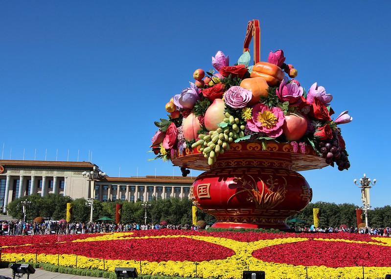 Tiananmen Square & Forbidden City- Beijing, China, Sept 28 2017