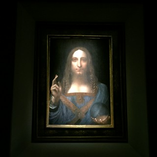 The Salvator Mundi - Neither One Nor Two!!
