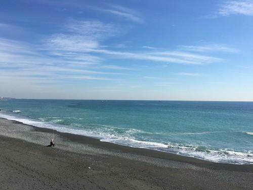 西湘の海の色
