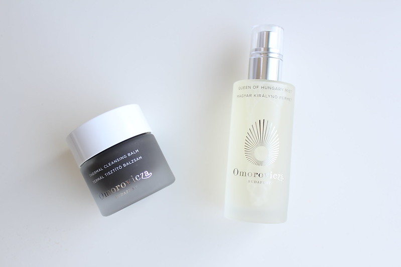 Omorovicza Thermal Cleansing Balm and Queen of Hungary Mist review