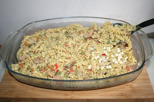 55 - Weitere Schicht Nudeln hinzufügen / Add more pasta mix