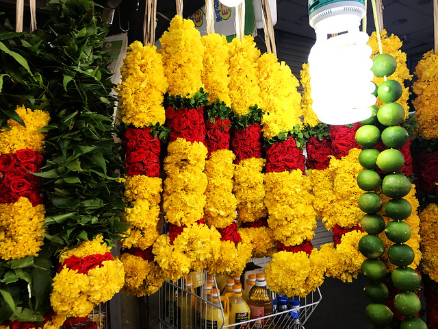 Flowers in Singapore's Little India