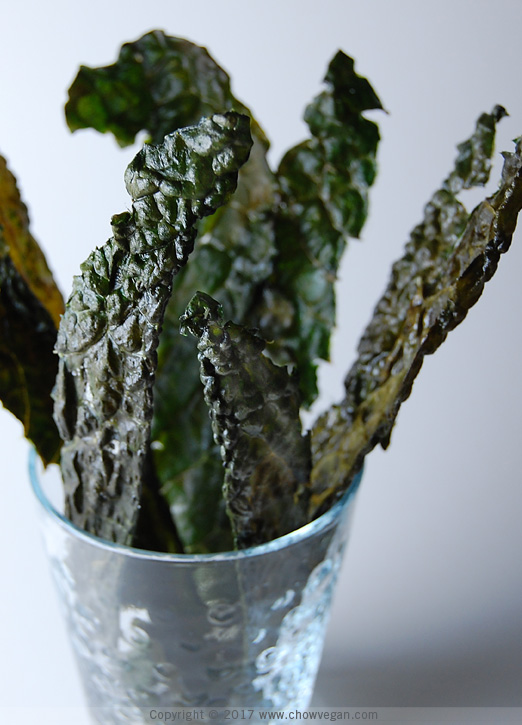 Tuscan Kale Chips | Chow Vegan