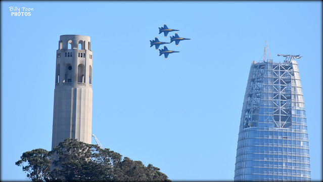 The Blue Angels Fleet Week San Francisco 2017