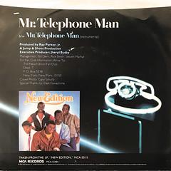 NEW EDITION:MR. TELEPHONE MAN(JACKET B)