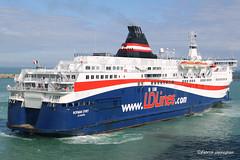 Norman Spirit leaving the port of Dover