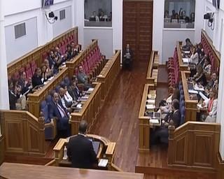 Declaraciones del presidente de CLM, durante su intervenci�n en el Debate sobre el Estado de la Regi�n. Derecho a decidir s�, pero de todos
