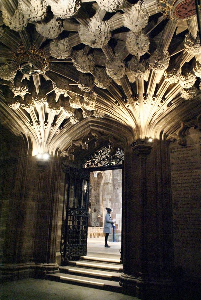 L'une des plus belles chapelles de la Cathédrale Saint Giles à Edimbourg.