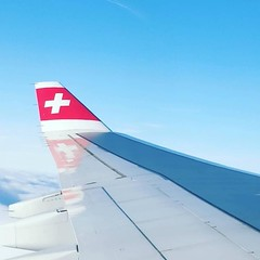 En route. #swiss #airbus #a340 - User image by @abolsaviation