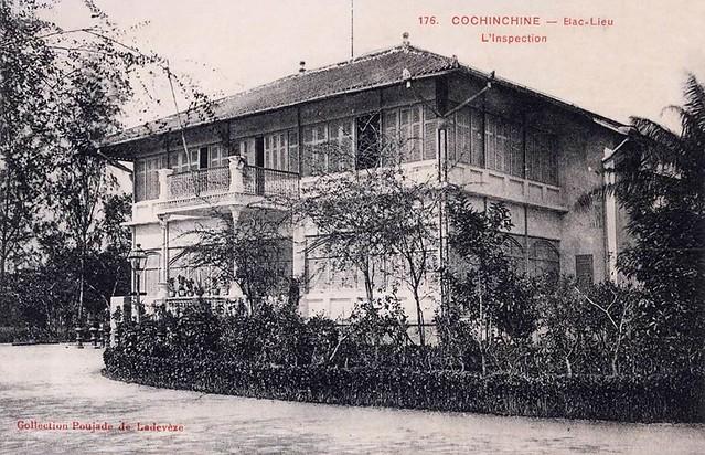 BAC-LIEU - L´Inspection - Tòa tham biện tỉnh Bạc Liêu (tương đương UBND Tỉnh ngày nay)