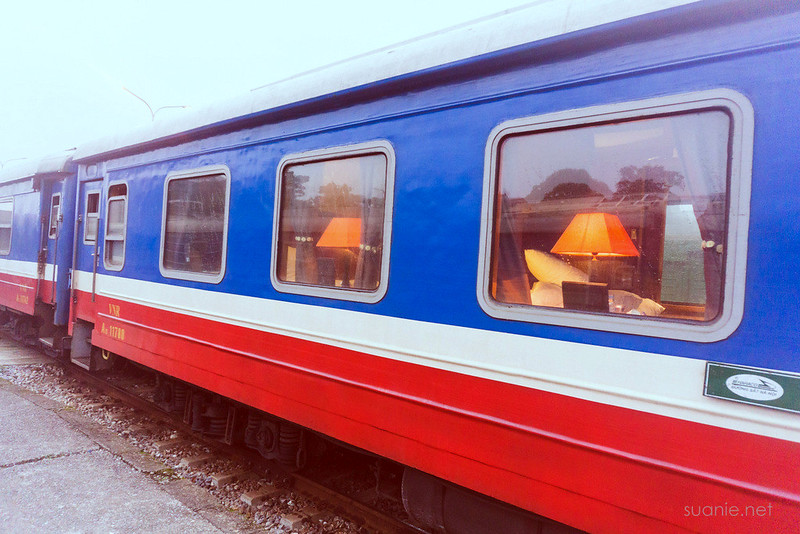 Hanoi Sapa train - luxury cabins