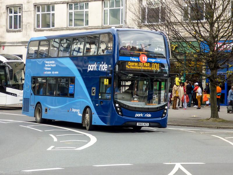 Stagecoach Devon 10459 SN65NZS