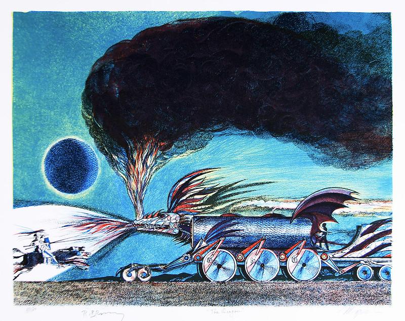 Joseph Mugnaini - The Dragon,  1981