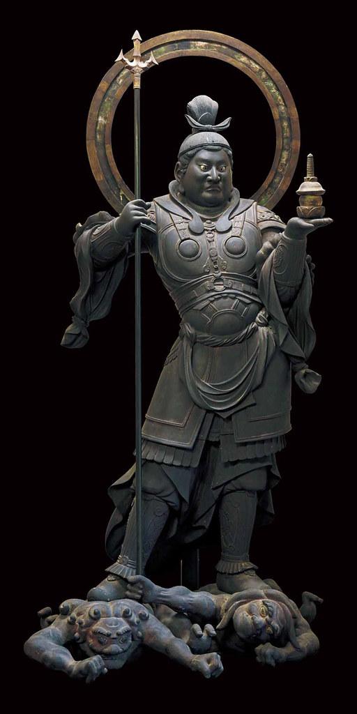 国宝《毘沙門天立像》運慶作(静岡・願成就院)写真:六田知弘