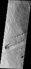 Collapsing lava tubes on Pavonis Mons (THEMIS_IOTD_20171103)