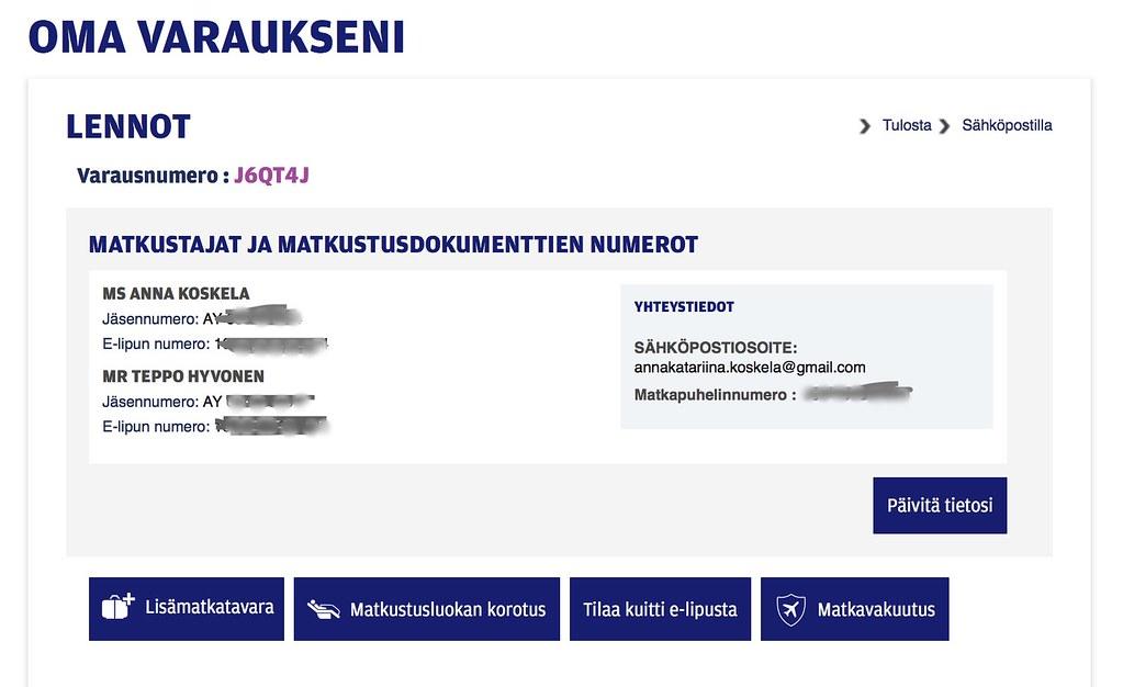 Finnairin Boarding Pass-kuvalla voi peruuttaa lentosi ja löytää kotisi