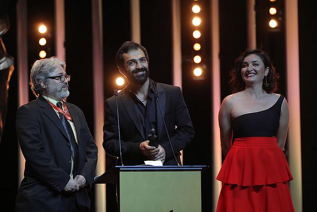 'En İyi Erkek Oyuncu Ödülü' 'A Man of İntegrity' (Dürüst Bir Adam) filmindeki başarılı oyunculuğu ile İranlı Aktör Reza Akhlaghirad aldı.
