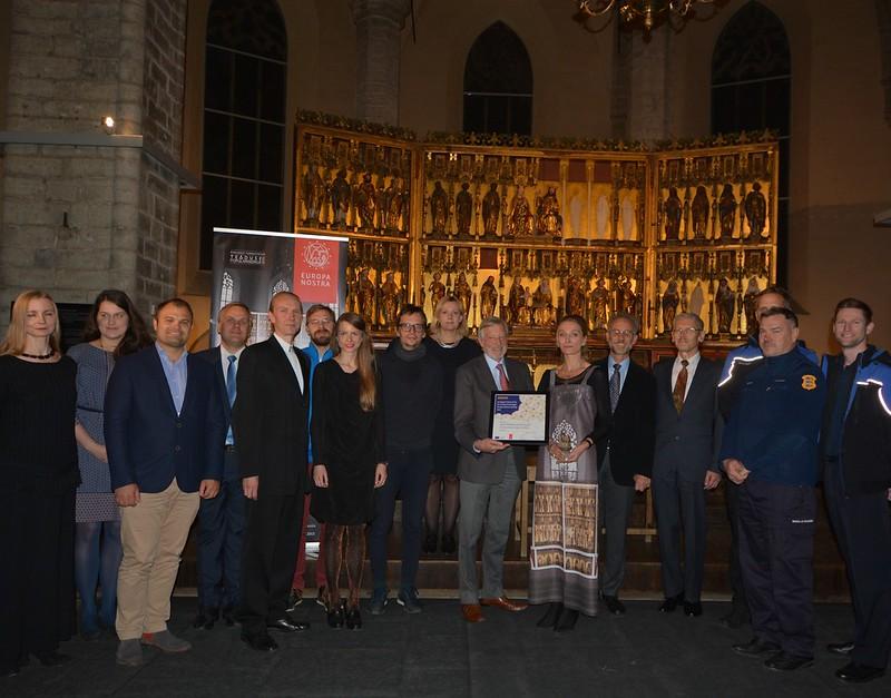 2017 Local Award Ceremony The Rode Altar, Tallinn