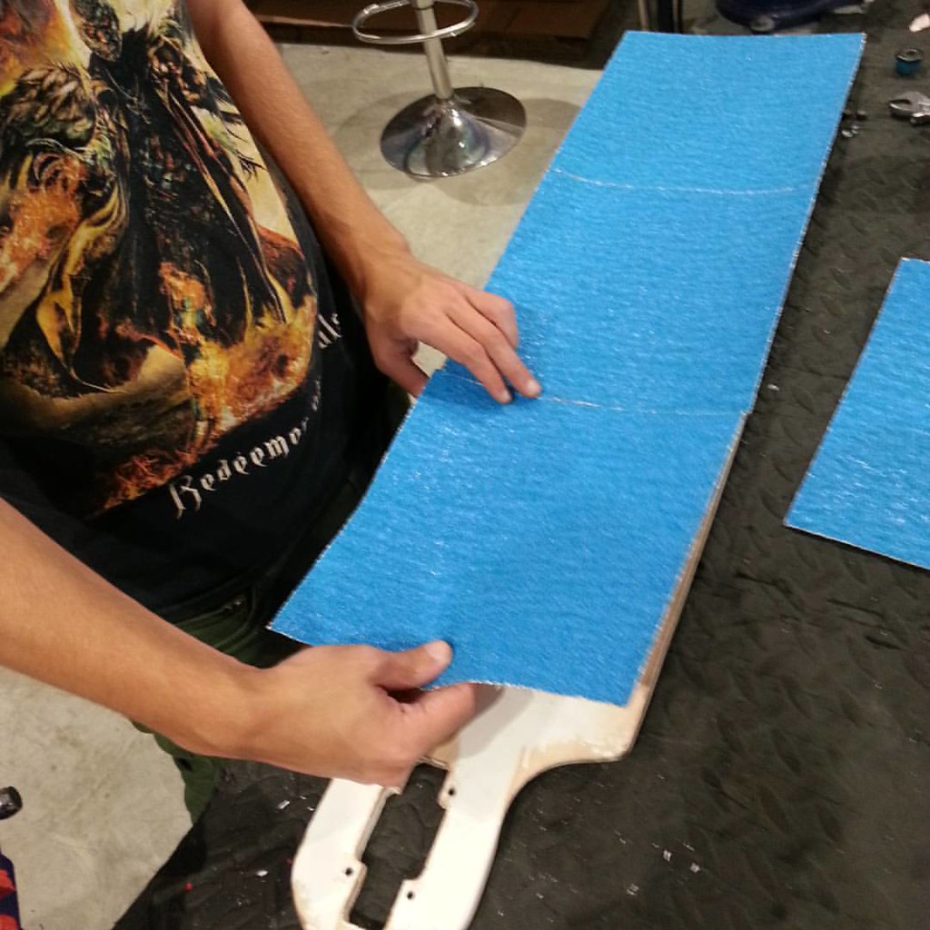 Adam's got the blues. #bloodorange #landyachtz #boarderlabs
