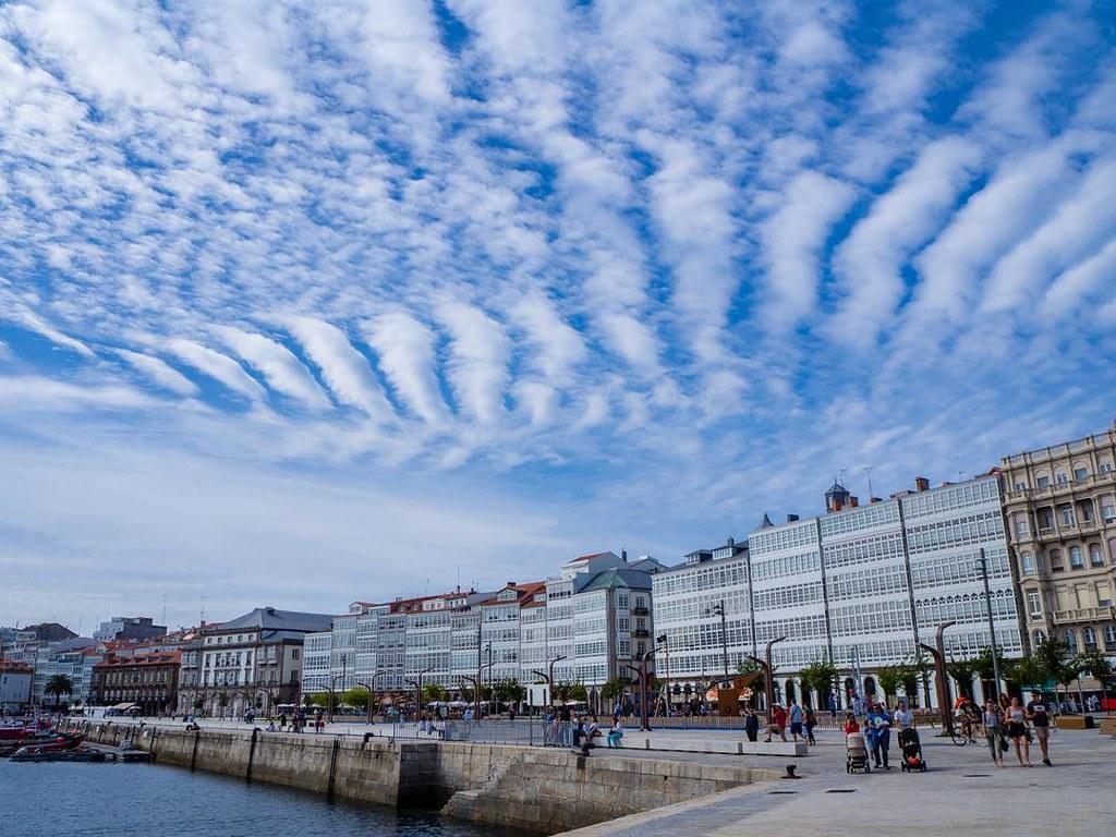 Cielos de Coruña. #clouds #nubes #marina #photography #olympusomd