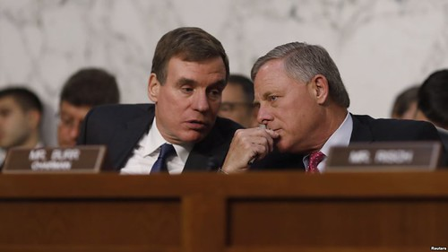 "The leaders of the Senate intelligence Committee – about the ""Russian investigation"""