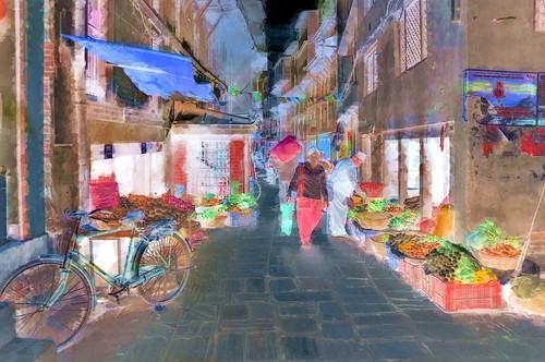 Nepal - Kathmandu - Streetlife - 21bb
