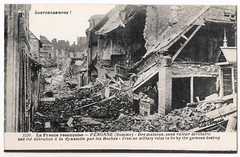 Péronne - Houses of no Military Strategic Value Destroyed by the Germans