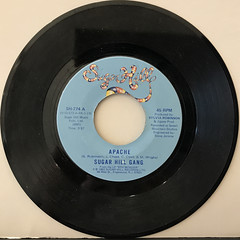 SUGAR HILL GANG:APACHE(RECORD SIDE-A)